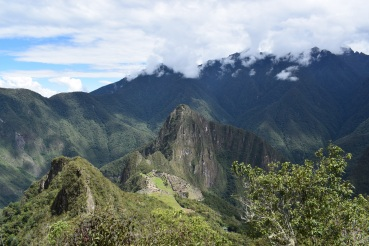 View from Montaña Machu Picchu