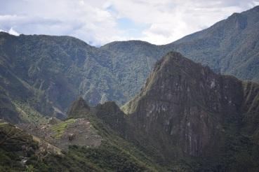View from Sun Gate 'Intipunku'