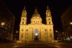 'Szent István' at night