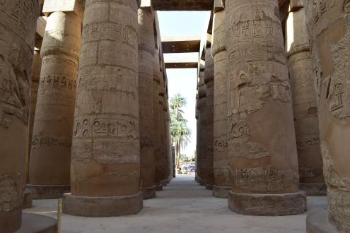 Columns at Karnak