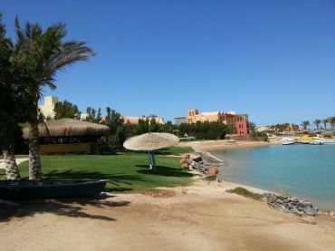 El Gouna colorful architecture